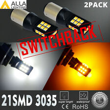 LED 2-Color Front Turn Signal Bulb For 13-15 Honda Accord EX EX-L LX Sport Sedan