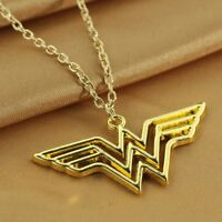 New Wonder Woman Necklace Gold Color
