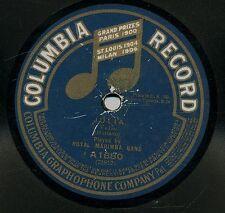 Royal Marimba Band 78 RPM Julia / Muchachas Guatemaltecas - Columbia