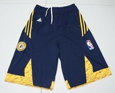 Adidas Boys Youth L 14-16 Blue Polyester Indiana Pacers Basketball Shorts NWOTs