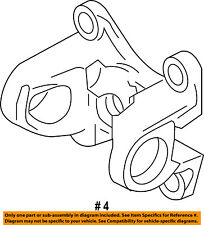 FORD OEM Drive Shaft-Rear-Coupling DL3Z4782A