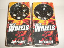HPI #3161 Savage 6 Spoke Wheels x4 unused Flux