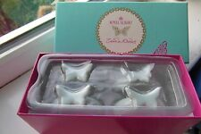 Royal Albert My Favourite Things Napkin Rings x 4 Butterfly Boxed Zandra Rhodes