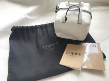 Loewe Bolso mini cubo bag in white color for puzzle barcelona