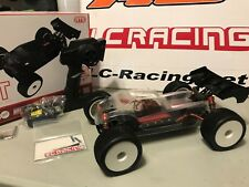 LC RACING 1:14 EMB Brushless motor Off Road 4WD RC Car Truggy RTR 1/14 CLEAR