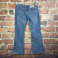 Lucky Brand Womens Jeans Mid Rise Flare Size 10 Dungarees