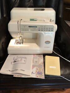 Janome MC 3000 Memory Craft Sewing Machine