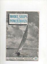 MODEL SHIPS & POWER BOATS magazine, January 1948