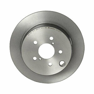 Brembo Rear Solid Coated Brake Disc Rotor for Subaru Crosstrek Forester Impreza
