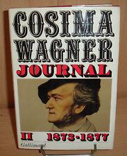 Journal tome II 1873-1877 par Cosina Wagner