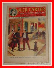 NICK CARTER 4 Nerbini 1923 IL GRAN POLIZIOTTO AMERICANO Racconto Completo