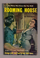 Rooming House, Fred Malloy vintage 1951 Beacon #103 GGA sleaze EX++