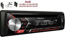 Pioneer deh-s3000bt CD USB AUX MP3 App Set d'installation pour Audi A4 (B5) A6 (