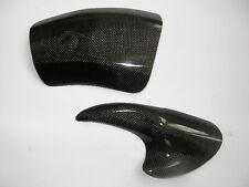 CARBON FIBRE Aprilia RSV RSVR Mille 1998 - 2003 Swingarm Protectors SHORT