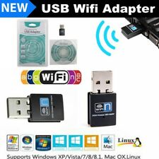 USB Wifi Adapter 300Mbps Wireless Lan Internet for Desktop PC Laptop Windows 10