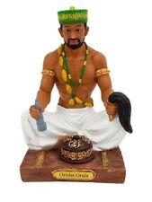 """7"""" Orisha Orula Statue Yoruba Santeria Lucumi African God Figure"""