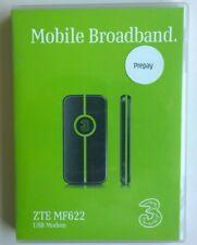 THREE MOBILE / 3 MF622 ZTE HSDPA USB MODEM VGC Boxed!