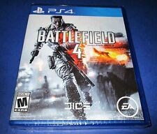 Battlefield 4 Sony PlayStation 4 *Factory Sealed! *Free Shipping!