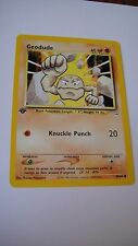 POKEMON CARD NEO REVELATIONS GEODUDE  44/64  L@@K