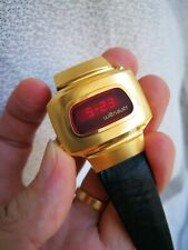 Wittnauer Polara LED Watch Doctor's Watch Gold plated