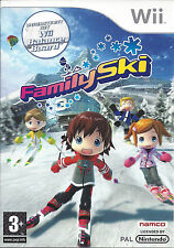FAMILY SKI for Nintendo Wii - with box & manual - PAL