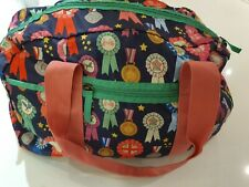 Accessorize Girls Zip Up Bag/ Holdall Rosette Design. Used once