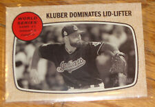 2017 Topps Heritage Cleveland Indians world series #151 Corey Kluber Dominates