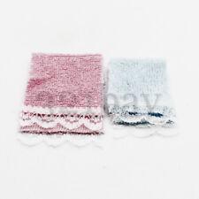 Mini Handtuch Zubehör für Puppenstube Handtücher Tuch Tücher Badezimmer 1:12