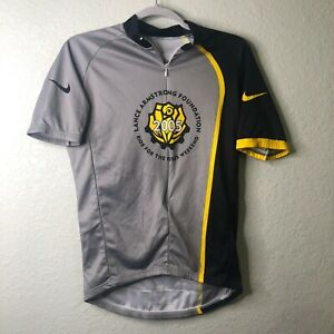 Nike Livestrong Cycling Jersey Lance Armstrong 2005 Mens Size Medium