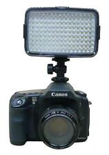 144-LED Dimmer Video Light Lamp for Canon Eos Nikon Camera Brightness Adjustable