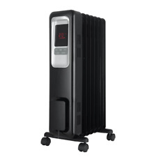 Portable Space Heater Electric Mini Office Home Room Digital Thermostat 1,500W