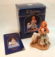 Fontanini Nahome The Shepherdess Centennial Collection Nativity Figurine Iob