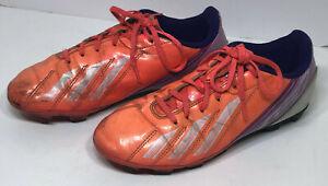 Adidas F5 TRX FG Women's Soccer Cleats, Size 5.5 Pink Purple