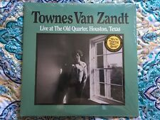 Townes Van Zandt Live at the Old Quarter Houston Texas Sealed Double LP