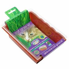 2x Mr Fothergill's CAT GRASS SEED RAISER KITS Mini Greenhouse *Australian Brand