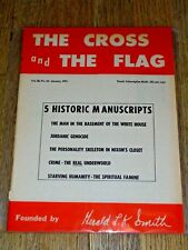 """The Cross and the Flag"" magazine, Jan. 1971, Gerald Smith / White Nationalism"