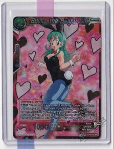 Bulma The Bunny Girl BT10-011 SR Dragon Ball Super Card Game