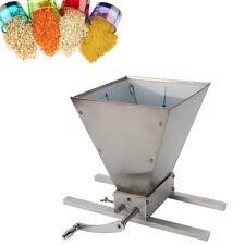 Getreidemühle Kornmühle Biomühle Flocker Verstellbare Malzmühle Grinder Edelstah
