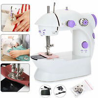 NEW Electric Portable Mini Sewing Stitch Machine 2 Speed Foot Pedal LED Home DIY