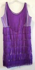 La Mendola Purple Flapper Dress