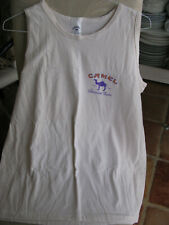 1995 Camel Sleevless T-shirt 100% cotton New old stock