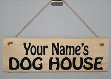 Dog Personalised Decorative Outdoor Signs/Plaques
