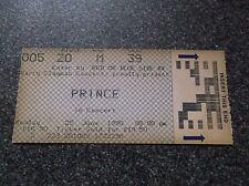 PRINCE  TICKET STUB  WEMBLEY  25th JUNE 1990