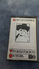 U2 Out Of Control Stories For Boys Boy/Girl cassette 1979 VERY RARE