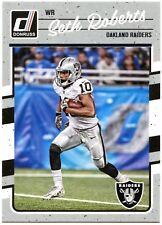 Seth Roberts - Oakland Raiders #221 Donruss 2016 NFL Panini Trade Card (C2366)
