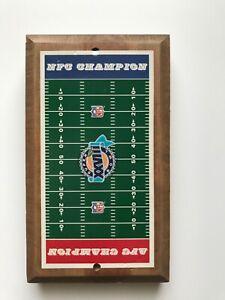 NFC AFC Super Bowl XXVIII Game Vintage Wood Plaque Board Man Cave Stuff