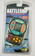 Milton Bradley Electronic Handheld Battleship Game 1999 SEALED~Clear Case 04633