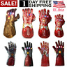 US Thanos Infinity Gauntlet LED Light Gloves Halloween Iron Man Tony Stark Glove