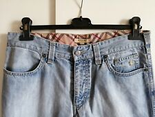 Jeans uomo BURBERRY vintage con logo ricamato taglia 34 ( ita 48 )