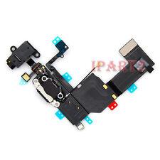Charging Dock Headphone Jack Mic Connector Antenna Flex for iPhone 5C (Black)